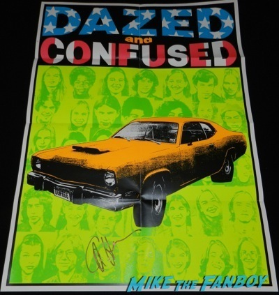 dazed and confused signed autograph criterion poster cole hauser