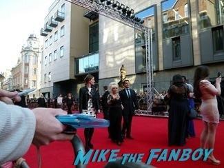 Barbara Windsor olivier awards 2014 signing autographs for fans 22
