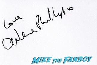Arlene Phillips signing autographs olivier awards 2014 signing autographs for fans 53