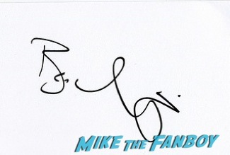 Ben Miles signing autographs olivier awards 2014 signing autographs for fans 9