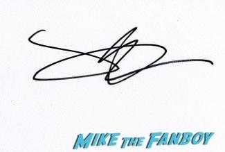 James Alexandrou signing autographs olivier awards 2014 signing autographs for fans 23