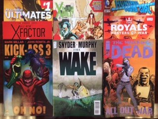 new comic books rare