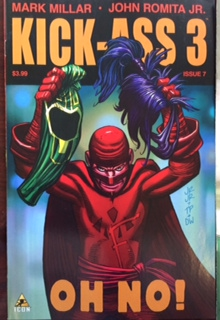 Kick-Ass 3 new comic book rare hit girl
