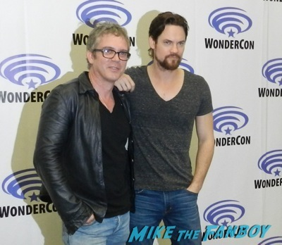 brannon braga shane west sales press room interview wondercon 2014 son of batman salem revolution autograph signing 9
