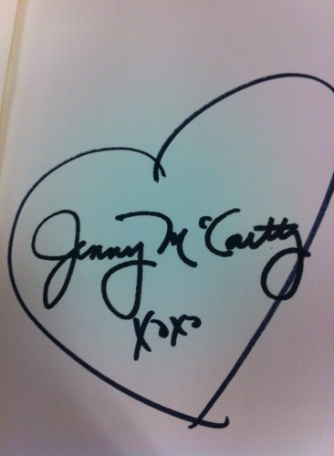 Autopen Jenny McCarthy