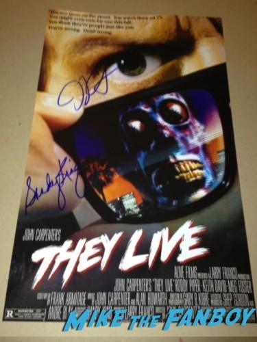 John Carpenter Signing Autographs