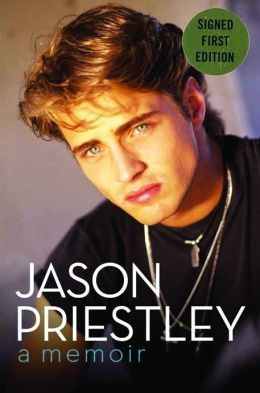 jason priestly memoir signed edition