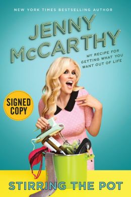 Jenny Mccarthy signed autograph book