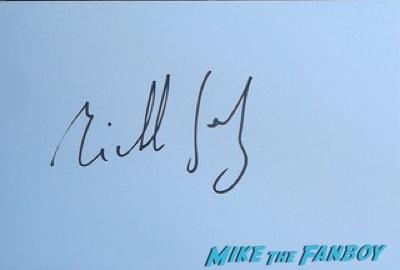 Michel Gondry fan photo rare Audrey Tautou signing autographs fan photo rare signed 4