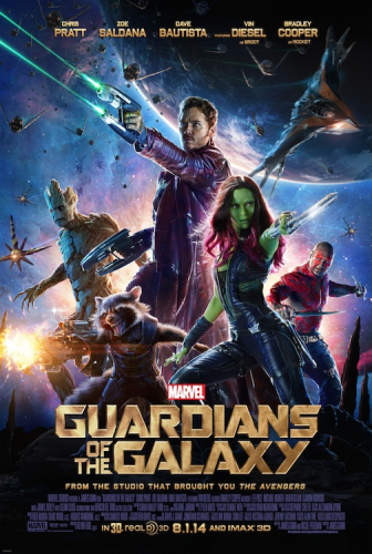 new guardians of the galaxy movie poster one sheet key art chris pratt