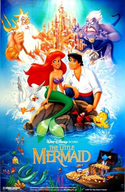 Christopher Daniel Barnes The Little Mermaid poster