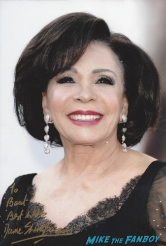 Dame Shirley Bassey signed autograph photo rare