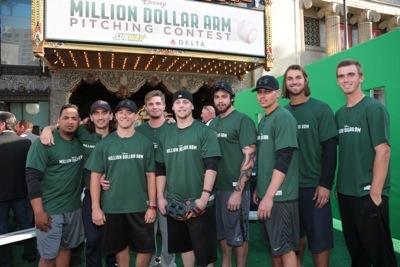 Million Dollar Arm Contestants