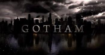 Gotham logo rare press promo still ben Mckenzie 3