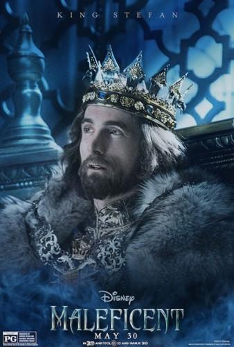 King-Stefan Princess-Aurora Maleficent individual character movie posters angelina jolie