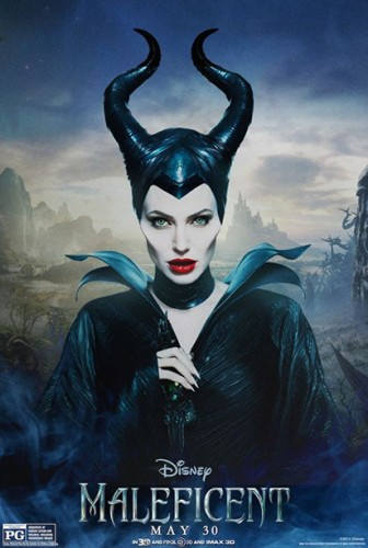 Maleficent individual character movie posters angelina jolie