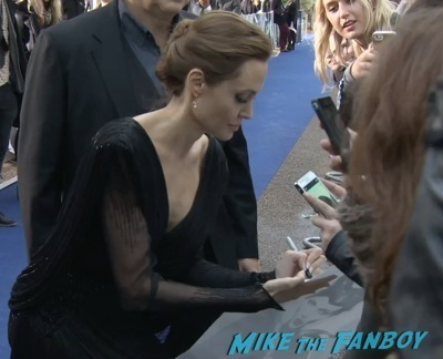 Angelina Jolie Signing Autographs Maleficent paris france premiere angelina jolie signing autogaphs brad pitt1