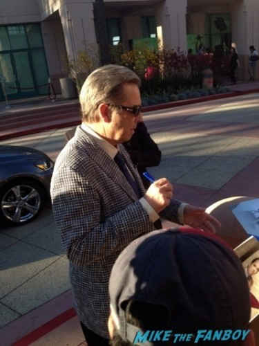 beau bridges signing autographs Masters of Sex Televison Academy event signing michael sheen rare 3