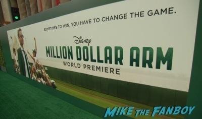 Million Dollar Arm world premiere jon hamm lake bell red carpet2
