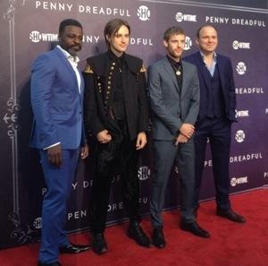 Penny Dreadful new york red carpet premiere eva green josh hartnett1