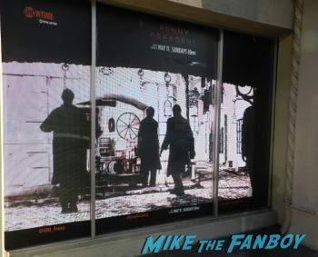 Penny Dreadful showtime interactive window display los angeles 1