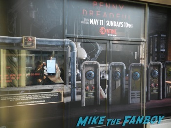 Penny Dreadful showtime interactive window display los angeles 4
