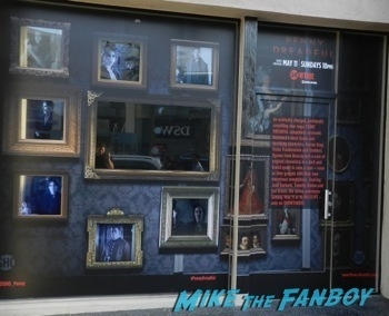 Penny Dreadful showtime interactive window display los angeles 5