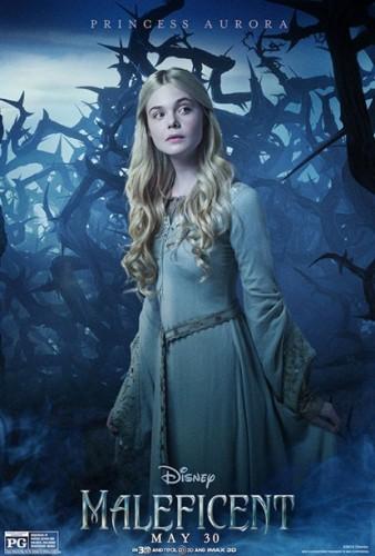 Princess-Aurora Maleficent individual character movie posters angelina jolie