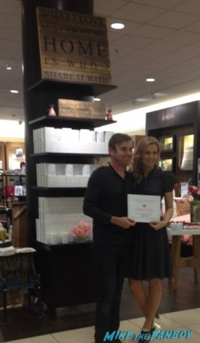 Ricky Schroder now 2014 selfie fan photo signing autographs nordstroms     1