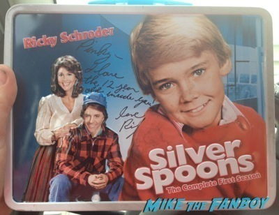 Ricky Schroder signed lunchbox now 2014 selfie fan photo signing autographs nordstroms     3