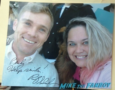 Ricky Schroder now 2014 selfie fan photo signing autographs nordstroms     4