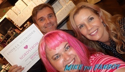 Ricky Schroder now 2014 selfie fan photo signing autographs nordstroms     2