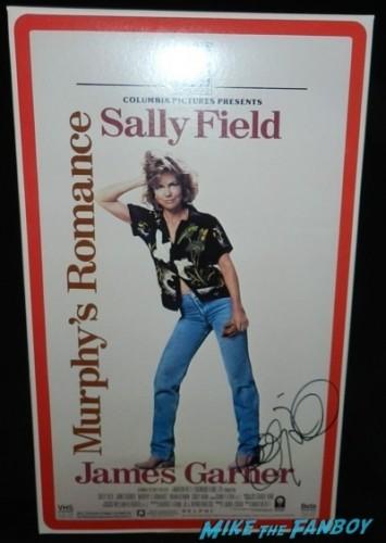 murphy's romance signed autograph sally field oversize VHS box display rare
