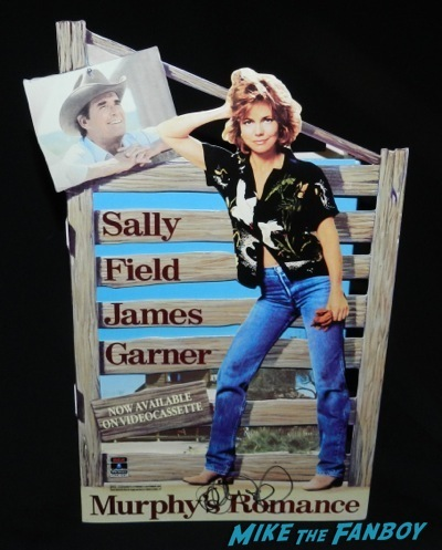 murphy's romance signed autograph sally field counter standee stand up display rare
