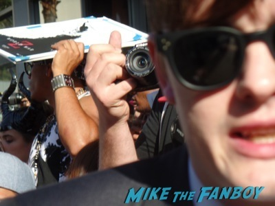 sam riley fan photo signing autographs malificent premiere hot sexy