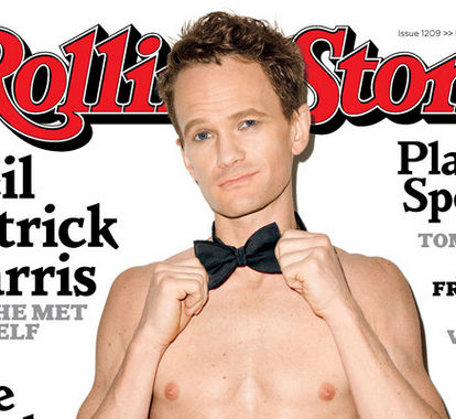 Nudes in rolling stone magazine