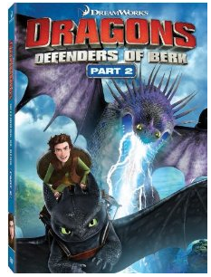 Dragons Defenders of Berk part 2 logo