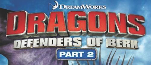 Dragons Defenders of Berk part 2 logo