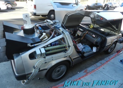back to the future delorean The Goldbergs Paley Center Q and A George Segal 1