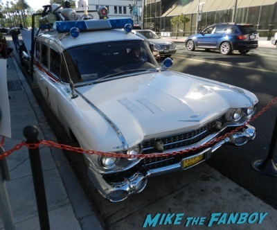 ghostbusters ecto -1 car  The Goldbergs Paley Center Q and A George Segal 1