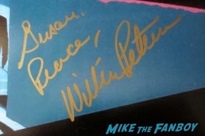 William Petersen signed autograph poster manhunter fan photo signing autographs CSI Star rare 3