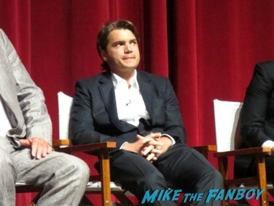 bonnie and clyde television academy q and a emile hirsch signing autographs      11