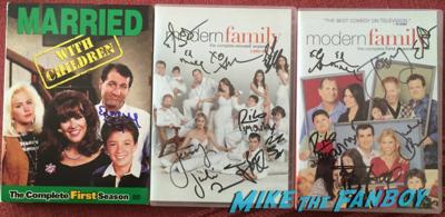 ed o'neil signed autograph dvd's rare 3