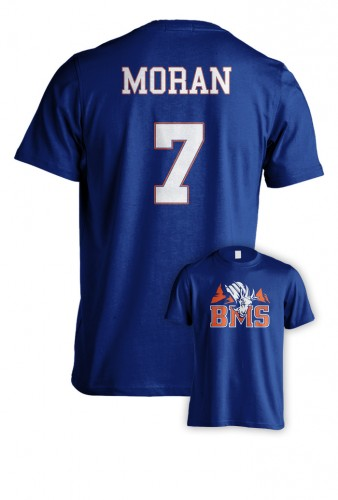blue mountain state kickstarter t-shirt rare