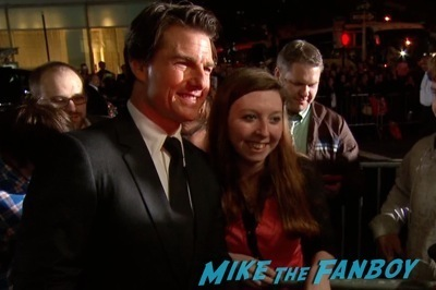 edge of tomorrow new york movie premiere tom cruise emily blunt selfie 7