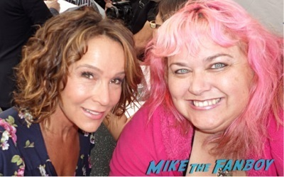 jennifer grey fan photo signing autographs for fans 1