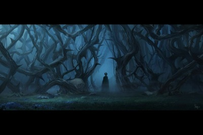 maleficent concept art angelina jolie walt disney