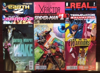 new comic books