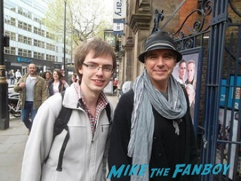 Jeff Fahey signing autographs west end london 12