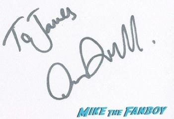 Arthur Darvill signing autographs west end london 22